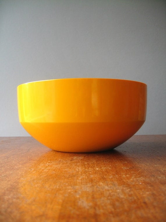 Vintage Danish Modern Rosti Bowl - Yellow