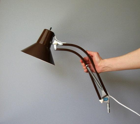 Retro Adjustable Clamp Lamp Scandinavian Modern / Industrial
