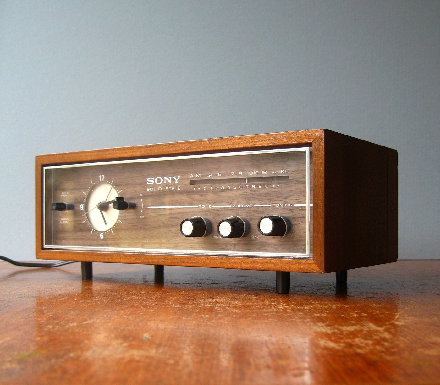 Coffee Maker Alarm Clock Radio : Vintage Sony Radio Alarm Clock
