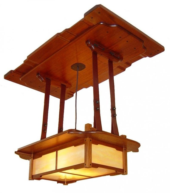 Gamble house dining room light fixture