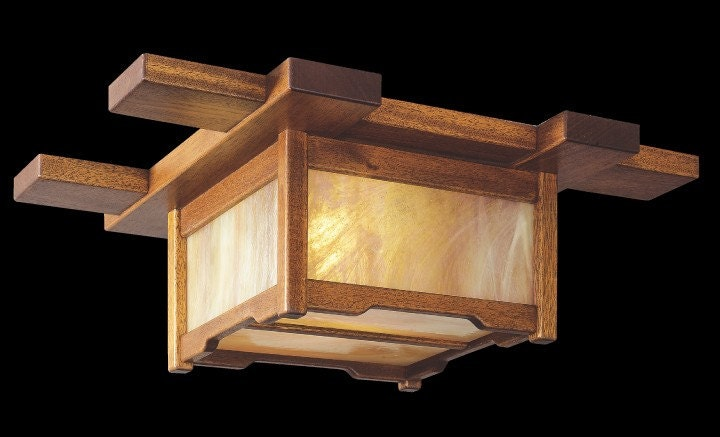 Craftsman Inspired Ceiling Light
