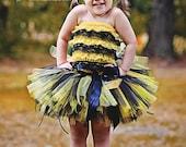 Bumble Bee Costume Halloween Petti Romper