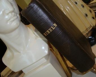 Antique Swedish Bible1899