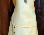 1960's Cute As A Button Dress