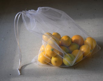 5 reusable produce bags