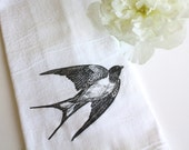 Tea Towel  Flour Sack Towel Cotton Kitchen Towel Hostess Gift  Home Gourmet