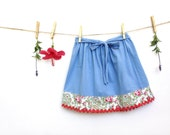 Girl's Skirt, Size 5/6,  Blue, Children's Clothing, Kids Clothes