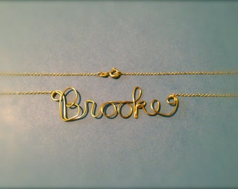 Gold-Filled or Sterling Silver Personalized Necklace