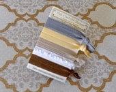 Bombshell Blonde Elastic Hair Ties, bracelet set of 5
