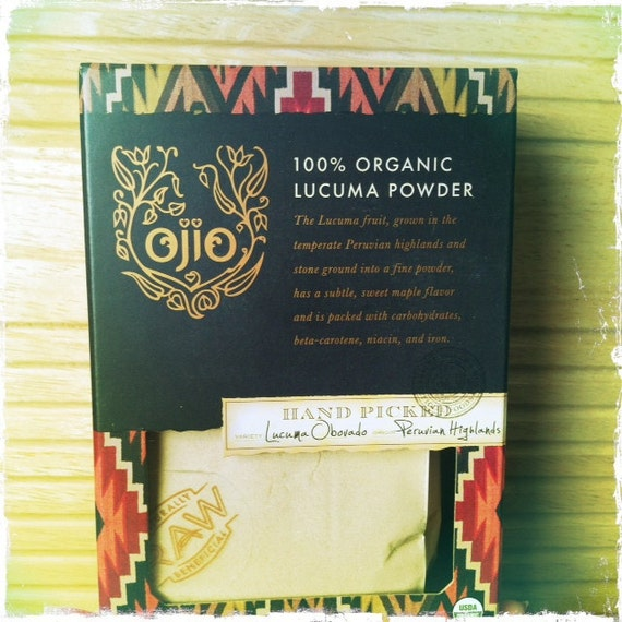 100% Raw Organic LUCUMA powder - 8 oz. package