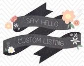 Custom listing for mgo01