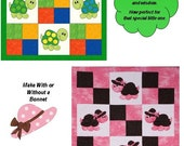 Are You My Turtle applique Quilt Pattern