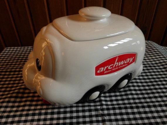 Vintage Archway Cookie Jar Advertising 1980s