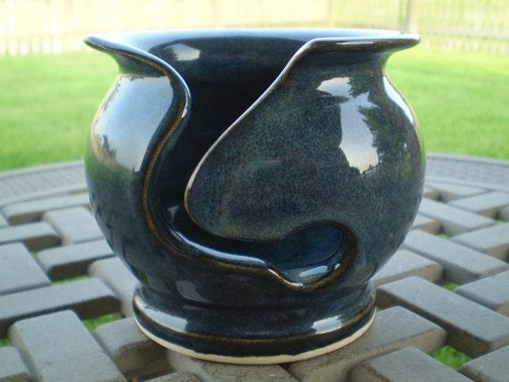 Petitie Denim Blue Yarn Bowl