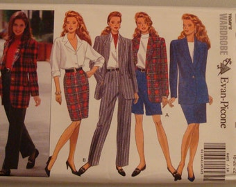 OOP  Butterick Womens Sewing Pattern 6405 size 18-22 Uncut