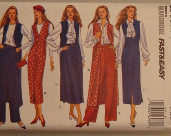 OOP  Butterick Womens Sewing Pattern 6916 size 12-16 Uncut