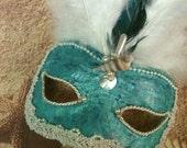 Lady Mermaid  / Venetian Vintage Mask