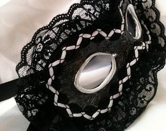 Je Ne Sais Quoi - French Maid - Custom Venetian Style Mask