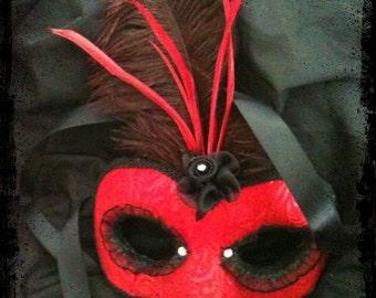 SALE Mistress Burlesque / Venetian Style Mask