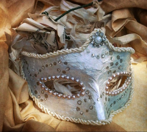 Lady Maiden of the Sea - Venetian Style Mask