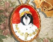 Shih Tzu Jewelry/Shih Tzu Pendant/Shih Tzu Brooch/Shih Tzu Necklace/Porcelain Jewelry/Custom Dog Jewelry By Nobility Dogs