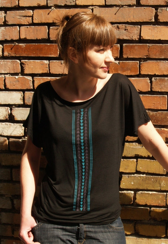 Ethnic Pattern Tunic / Eco Friendly Womens tunic