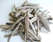 50 Driftwood Supplies Pieces 2 1/2 to 6 inches For Crafts and Projects