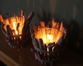 Driftwood Candle holders, Rustic and beautiful