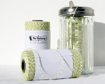 Bakers Twine full spool Honeydew 240 yards, lime green twine, twine, bakers twine, light green twine, light olive twine, cotton string