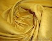 "60"" Wide Mustard  Polyester micro faux suede upholstery fabric by the yard"