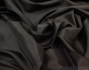 50 yards black taffeta two tone dress fabric per yard