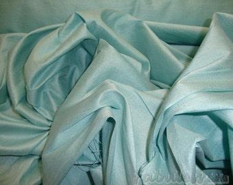 Robbins egg Shantung Dupioni Faux Silk fabric per yard home decor dress tablecloth
