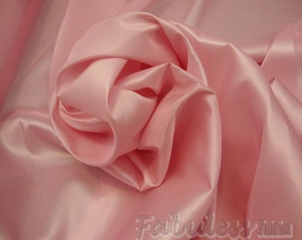 50 yards Pink Dress Drapery Taffeta fabric