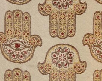 10 Yards Hamsa Sunset Chenille Upholstery and Drapery fabric