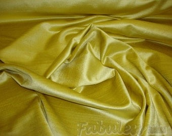 Maize Cotton Rayon Blend Velvet drapery upholstery fabric per yard