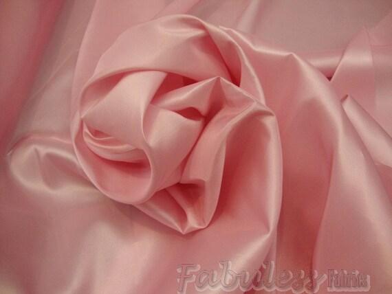 50 yards Pink Dress Drapery Taffeta fabric