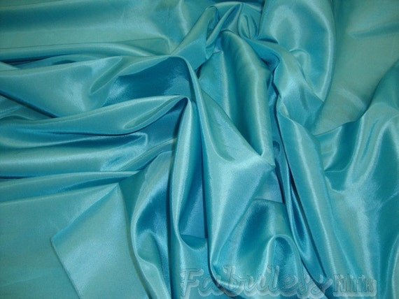 50 yards Blue Bird Dress Drapery Taffeta fabric