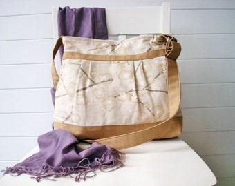Canvas messenger/shoulder bag - ready to ship