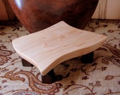 Maple footed Cutting Board / Trivet / Display Stand/ House Gift