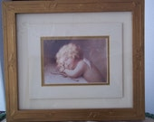 "Bessie Pease Gutmann - ""Cupid Caught Napping""  Print"