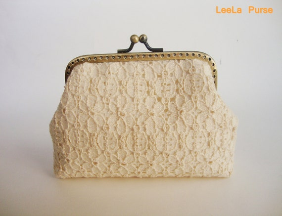 Reserved for tukeles - Vintage Floral Lace inspired Mini Wallet Coin purse