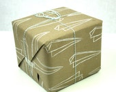 Wrapping Paper Paper Airplane Print Kraft paper gift wrap for all occasion