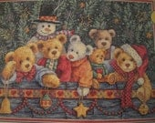 Beary Christmas Cross Stitch Kit by Dimensions Gold Collection