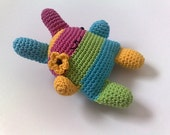 super kawaii crochet bunny flower power