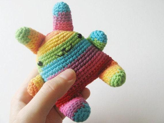 super kawaii crochet bunny rainbow neon lgbt gay lesbian
