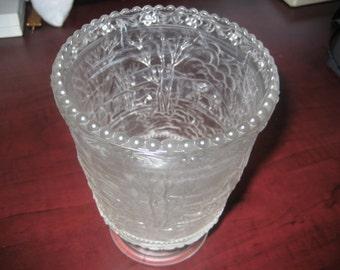 Vase By Fenton Glass