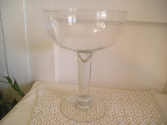 Champagne glass large centerpiece princess by debscollectibles