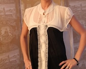Victorian-Style Blouse Dress