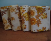 Reserved for Julie - Yellow Floral Fat Quarters