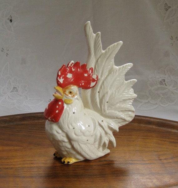 Vintage Ceramic Rooster 11
